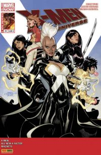 X-Men Universe T22 : Liens de sang (0), comics chez Panini Comics de Bunn, Wood, David, Hernandez Walta, Buffagni, Di Giandomenico, Fernandez, Sandoval, Bellaire, Mounts, Brown, Loughridge, Dodson