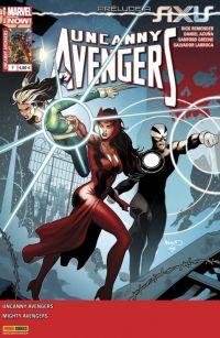 Uncanny Avengers (revue) – V 2, T7 : Aucun refuge (0), comics chez Panini Comics de Ewing, Remender, Larroca, Greene, White, Acuña, Milla, Renaud