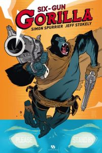 Six-Gun Gorilla, comics chez Ankama de Spurrier, Stokely, May, Perez
