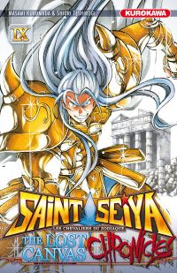 Saint Seiya - The lost canvas chronicles  T9, manga chez Kurokawa de Kurumada, Teshirogi