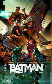 Batman Eternal T2, comics chez Urban Comics de Layman, Fawkes, Seeley, Tynion IV, Snyder, Higgins, R.M. Guéra, Lucas, Clarke, Ferreyra, Nguyen, Fabok, Simeoni, Brusco, Kalisz, Smith, Blond, Anderson, Mann