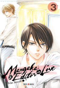 Mangaka & editor in love  T3, manga chez Soleil de Nanao