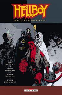 Hellboy T14 : Masques & Monstres (0), comics chez Delcourt de Robinson, Mignola, Benefield, Hollingsworth, Rambo