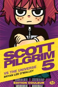 Scott Pilgrim T5 : vs the Universe, comics chez Milady Graphics de O'Malley, Fairbairn