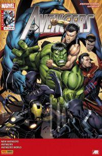 The Avengers (revue) T23 : Nous ne sommes pas des frères (0), comics chez Panini Comics de Spencer, Hickman, Ienco, Checchetto, Walker, Caselli, Mossa, Martin jr, Keown