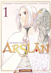 The Heroic Legend of Arslân T1, manga chez Kurokawa de Tanaka, Arakawa
