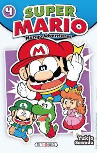 Super Mario T4, manga chez Soleil de Sawada