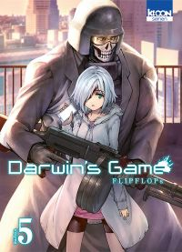 Darwin's game T5, manga chez Ki-oon de FLIPFLOPs