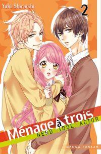 Ménage à trois T2, manga chez Tonkam de Shiraishi