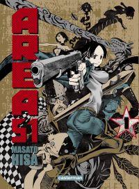 Area 51 T1, manga chez Casterman de Hisa