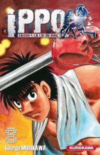 Ippo – Saison 4 - La loi du ring, T8, manga chez Kurokawa de Morikawa