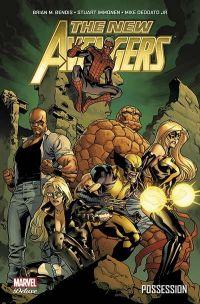 The New Avengers (vol.2) T1 : Possession (0), comics chez Panini Comics de Bendis, Immonen, Deodato Jr, Chaykin, Acuña, Delgado, Martin, Beredo