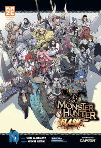 Monster hunter flash T10, manga chez Kazé manga de Yamamoto, Hikami