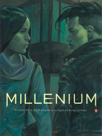 Millénium – cycle 3, T6, bd chez Dupuis de Runberg, Man