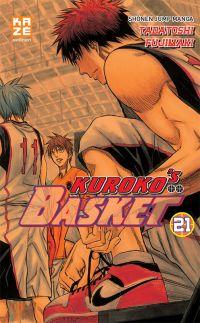 Kuroko's basket T21, manga chez Kazé manga de  Fujimaki