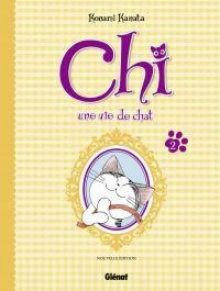Chi - une vie de chat (format BD) T2, bd chez Glénat de Konami