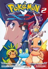 Pokémon XY T2, manga chez Kurokawa de Kusaka, Yamamoto