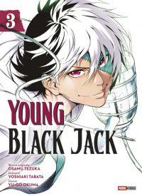 Young Black Jack T3, manga chez Panini Comics de Tabata, Tezuka, Okuma