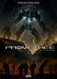 Prométhée T12 : Providence, bd chez Soleil de Bec, Raffaele, Digikore studio, Loyvet