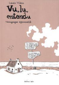 Vu, lu, entendu, bd chez Editions Lapin de Vilain