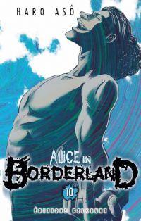Alice in borderland T10, manga chez Delcourt de Haro