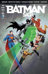 Batman Saga T37, comics chez Urban Comics de Snyder, Tynion IV, Buccellato, Jones, Fornès, Capullo, Dell'edera, Hepburn, Miki, Kalisz, Madsen, Proctor, Loughridge, FCO Plascencia
