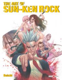 Sun-Ken Rock : The Art Of, manga chez Bamboo de Boichi