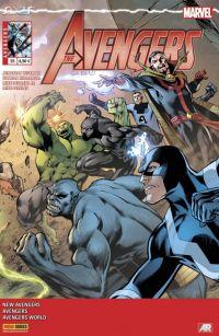 The Avengers (revue) – V 4, T25 : Tu ne peux pas gagner (0), comics chez Panini Comics de Spencer, Hickman, Barbiere, Deodato Jr, Perkins, Checchetto, Caselli, Kudranski, Mossa, Almara, Martin jr, Davis