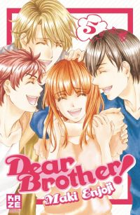 Dear brother T5 : , manga chez Kazé manga de Enjoji