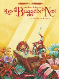 Les Buggels noz T3 : L'Empire du masque (0), bd chez Casterman de Simon, Michaud, Michaud