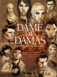 La Dame de Damas, bd chez Futuropolis de Filiu, Pomès