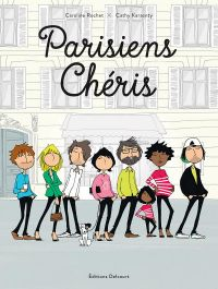 Parisiens chéris, bd chez Delcourt de Rochet, Karsenty