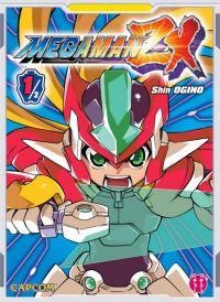 Megaman ZX T1, manga chez Nobi Nobi! de Ogino, Capcom
