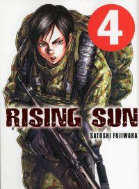 Rising sun T4, manga chez Komikku éditions de Fujiwara