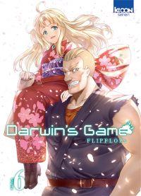 Darwin's game T6, manga chez Ki-oon de FLIPFLOPs
