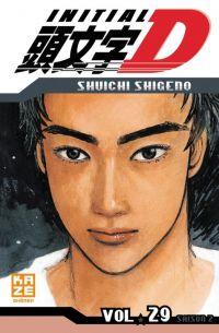 Initial D T29, manga chez Kazé manga de Shigeno