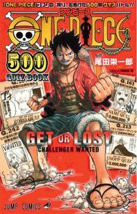 One piece 500 Quiz Book - Get or Lost  T1, manga chez Glénat de Oda