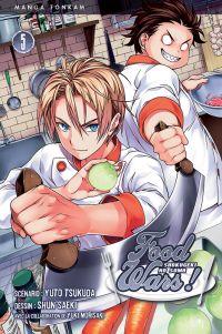 Food wars  T5, manga chez Tonkam de Tsukuda, Saeki