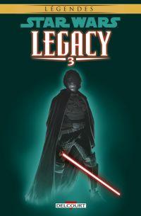 Star Wars Legacy T3 : Les griffes du dragon (0), comics chez Delcourt de Duursema, Ostrander, Anderson