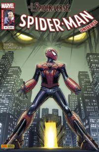 Spider-Man Universe – V. 1, T14 : Aux frontières du Spider-Verse (0), comics chez Panini Comics de Sapolsky, McLeod Chapman, Weaver, Latour, Hine, Way, Rodriguez, Wyatt, Isanove, Bonetti, Gandini, Herring, Renzi