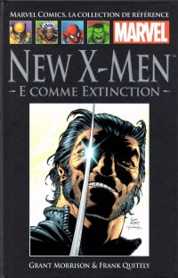 Marvel Comics, la collection de référence T25 : New X-Men - E comme Extinction (0), comics chez Hachette de Morrison, Van sciver, Quitely, Hi-fi colour