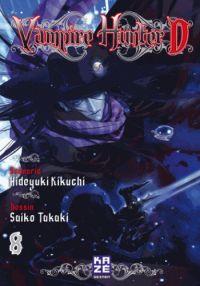 Vampire Hunter D T8, manga chez Kazé manga de Kikuchi, Takaki