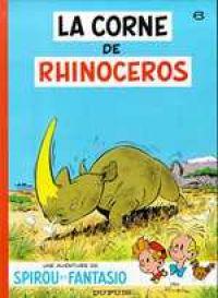 Spirou et Fantasio T6 : La corne de rhinocéros (0), bd chez Dupuis de Franquin