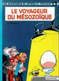 Spirou et Fantasio T13 : Le voyageur du Mésozoïque (0), bd chez Dupuis de Franquin