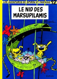 Spirou et Fantasio T12 : Le nid des Marsupilamis (0), bd chez Dupuis de Franquin