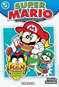 Super Mario T5, manga chez Soleil de Sawada