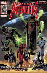 Uncanny Avengers (revue) – V 2, T9 : Contre-évolution (0), comics chez Panini Comics de Ewing, Hopeless, Remender, Ross, Kudranski, Mast, Acuña, Geoffo, Coello, Mossa, Rosenberg, Bianchi