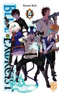 Blue exorcist T14 : , manga chez Kazé manga de Kato