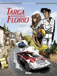 La Dernière Targa Florio, bd chez Glénat de Dugomier, Krings, Cesano
