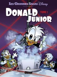 Donald Junior T1, bd chez Glénat de Collectif